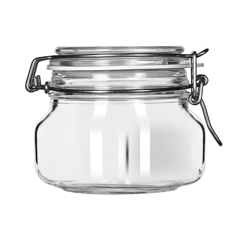 Libbey Glass 17208836 storage jar / ingredient canister, glass