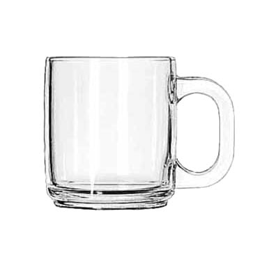 Libbey Glass 5201 mug, glass, coffee
