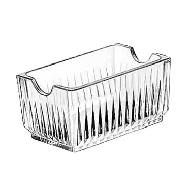 Libbey Glass 5460 sugar packet holder / caddy