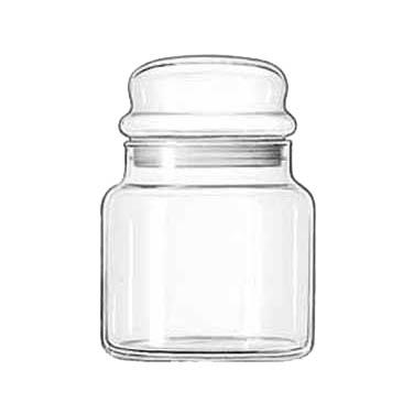 Libbey Glass 70996 storage jar / ingredient canister, glass