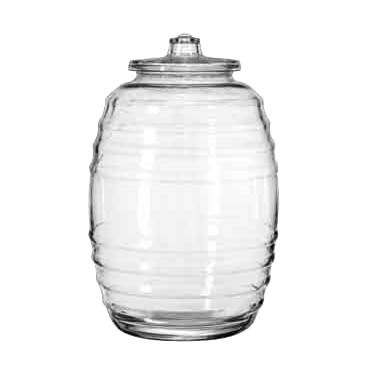 Libbey Glass 9520004 storage jar / ingredient canister, glass