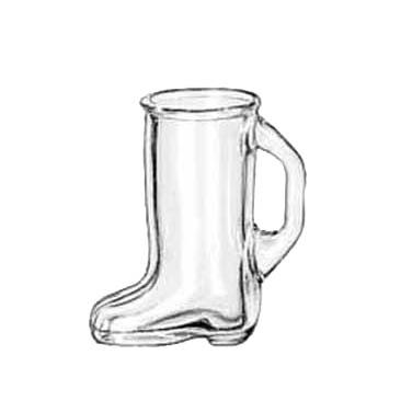 Libbey Glass 97038 glass, shot / whiskey