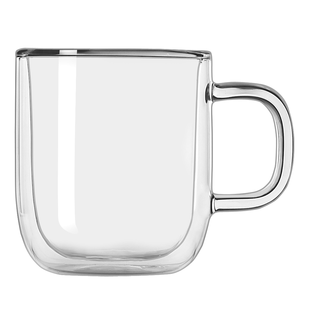 Libbey Glass VS75000 mug, glass, coffee