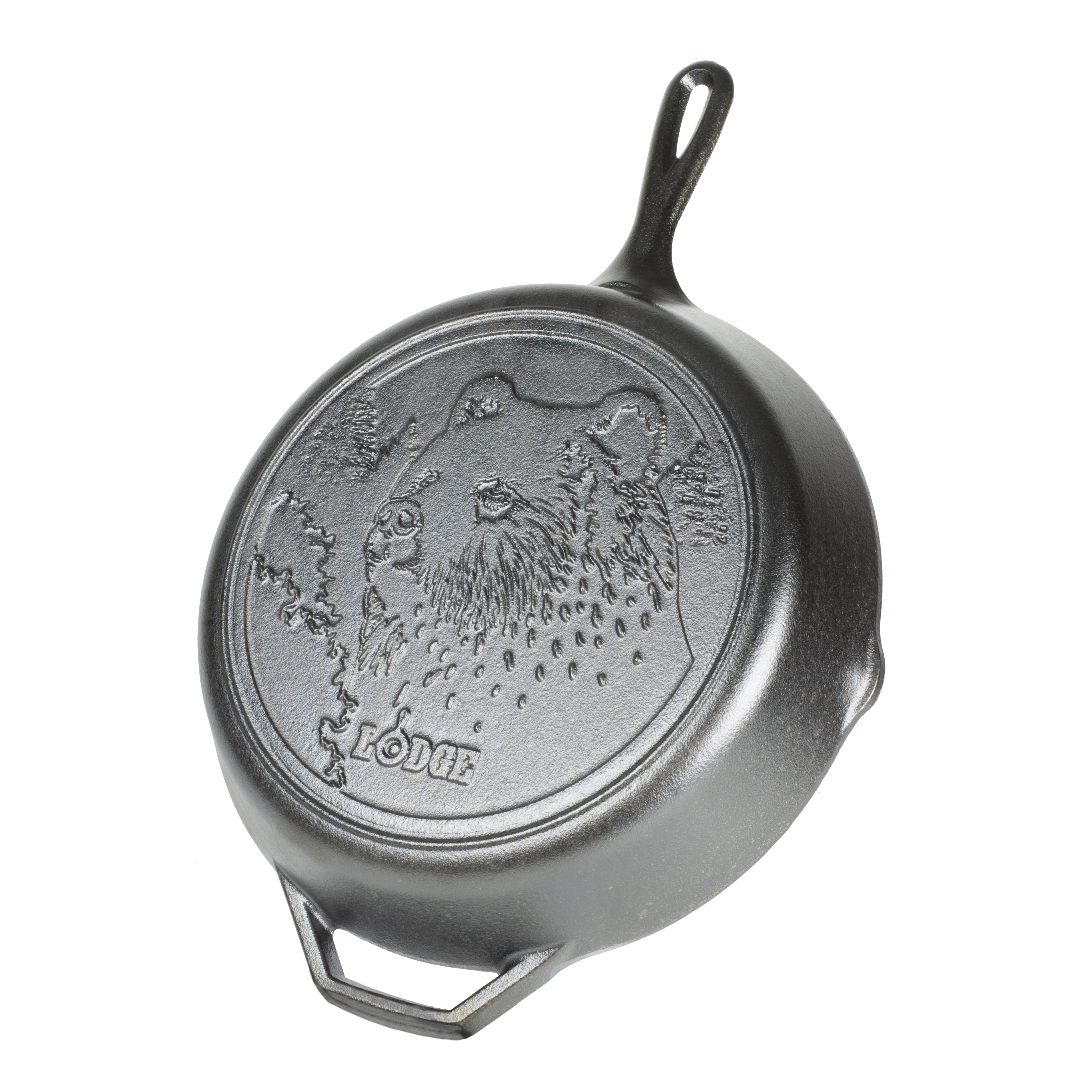 Lodge Manufacturing L10SKWLBR cast iron fry pan