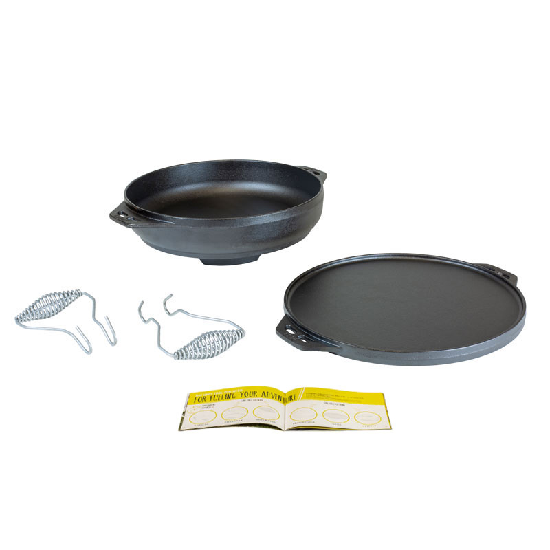 Lodge Manufacturing L14CIA cast iron pan set