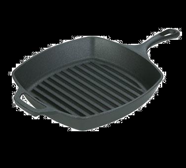 1150-57 Lodge Manufacturing L8SGP3 cast iron grill / griddle pan