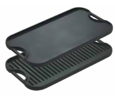 1150-38 Lodge Manufacturing LPGI3 cast iron grill / griddle plate