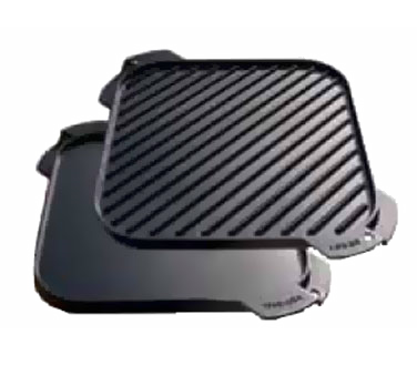 Lodge Manufacturing LSRG3 cast iron grill / griddle plate