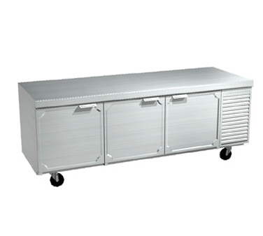 La Rosa Refrigeration 2586-ST refrigerated counter, work top
