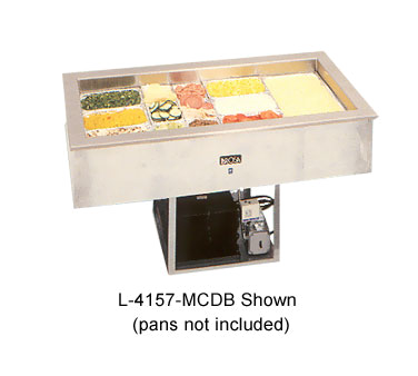 La Rosa Refrigeration 4183-MCDB cold food well unit, drop-in, refrigerated