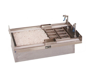 La Rosa Refrigeration 5534 underbar ice bin/cocktail unit, drop-in