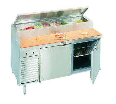 La Rosa Refrigeration L-14174-28 refrigerated counter, pizza prep table