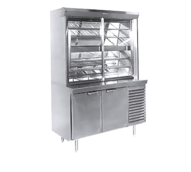 La Rosa Refrigeration L-30162-28 display case, refrigerated