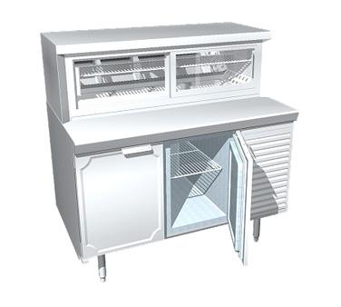 La Rosa Refrigeration L-34150-23-28 display case, refrigerated