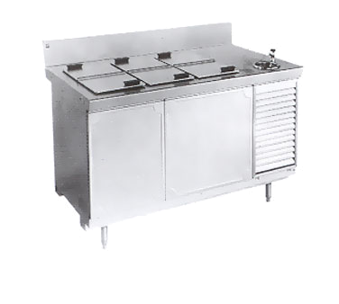 La Rosa Refrigeration L-40156-28 ice cream dipping cabinet
