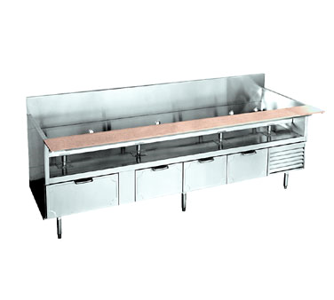 La Rosa Refrigeration L-74102-26 equipment stand, refrigerated base