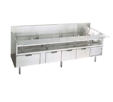 La Rosa Refrigeration L-74166-26 equipment stand, refrigerated base