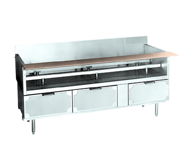 La Rosa Refrigeration L-75166-30 equipment stand, refrigerated base