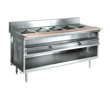 La Rosa Refrigeration L-81148-28 serving counter, hot food, electric