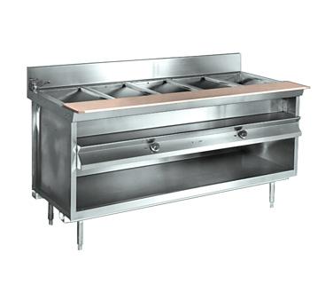 La Rosa Refrigeration L-81160-28 serving counter, hot food, electric