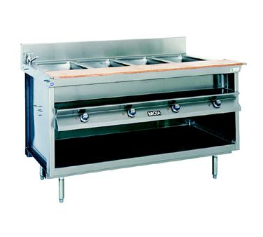 La Rosa Refrigeration L-82160-28 serving counter, hot food, electric