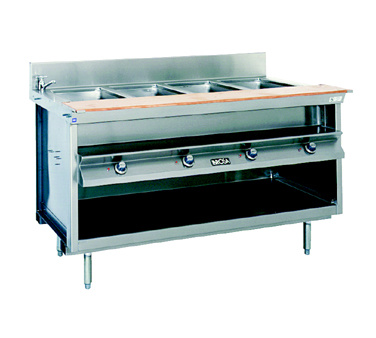 La Rosa Refrigeration L-82186-28 serving counter, hot food, electric