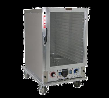 Lockwood Manufacturing CA37-PFIN-14CD-L proofer cabinet, mobile, half-height