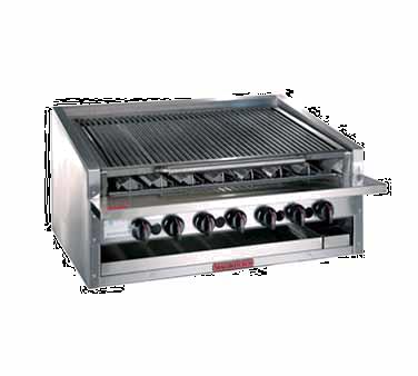 Magikitch'n APM-RMB-624 charbroiler, gas, countertop
