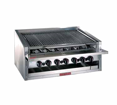 Magikitch'n APM-RMB-672CR charbroiler, gas, countertop