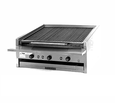 Magikitch'n APM-SMB-636 charbroiler, gas, countertop