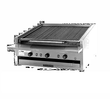 Magikitch'n APM-SMB-672 charbroiler, gas, countertop