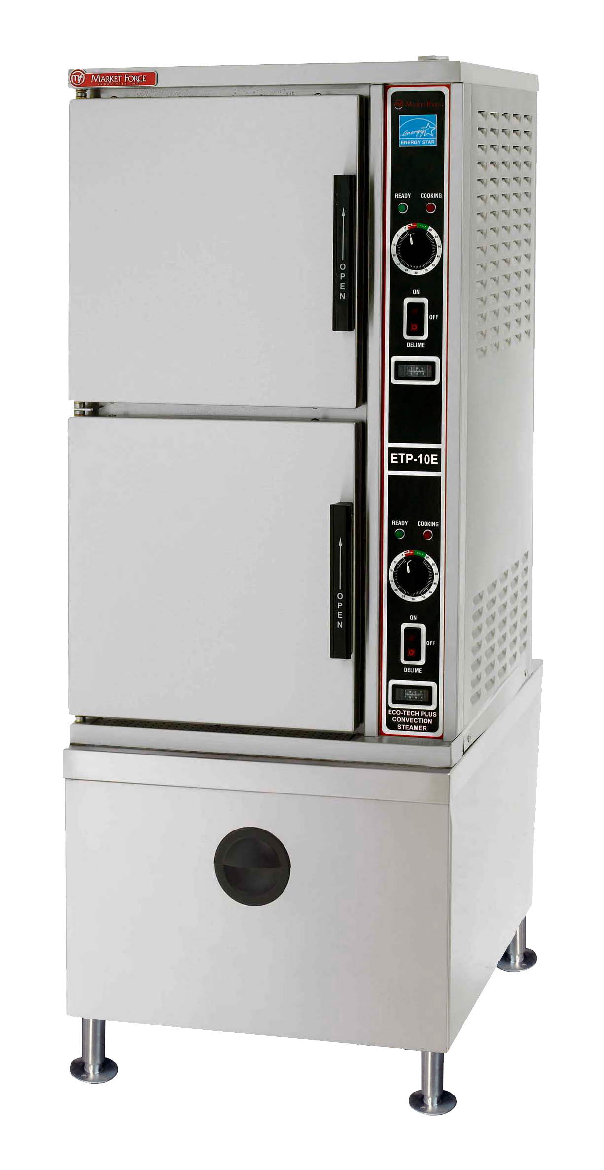 Market Forge ETP-10E steamer, convection, electric, floor model