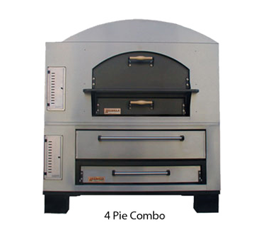Marsal & Sons MBC-1048 pizza oven, deck-type, gas