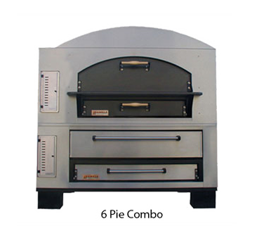Marsal & Sons MBC-1060 pizza oven, deck-type, gas