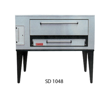 Marsal & Sons SD-1048 pizza oven, deck-type, gas