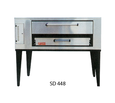 Marsal & Sons SD 448 pizza oven, deck-type, gas