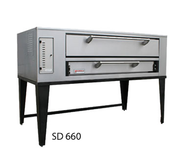 Marsal & Sons SD 660 SINGLE pizza oven, deck-type, gas