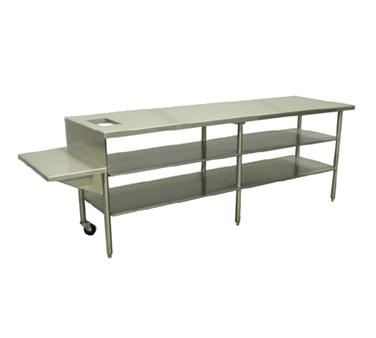 Marshall Air Systems 152398SS heated table, sandwich wrap