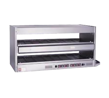 Marshall Air Systems CB2 display merchandiser, heated, for multi-product