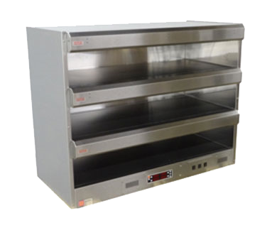 Marshall Air Systems CR1 display merchandiser, heated, for multi-product