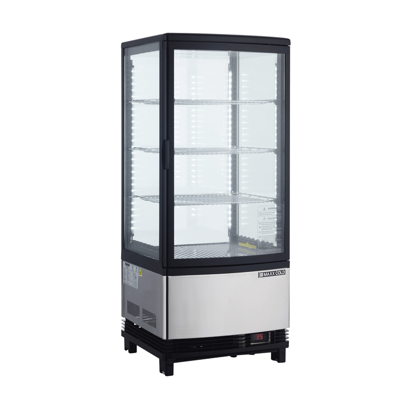 Maxximum MECR-31D display case, refrigerated, countertop