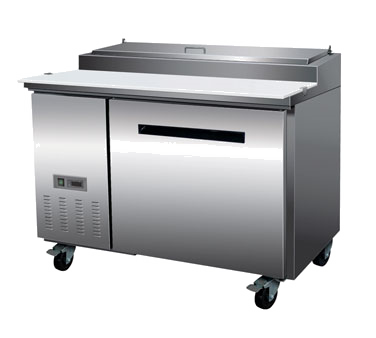 Maxximum MXCPP50 refrigerated counter, pizza prep table