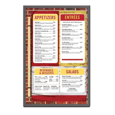 Menu Solutions BC110-D menu board