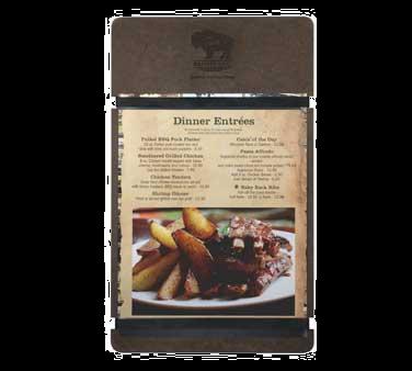 Menu Solutions RBB-BA menu board