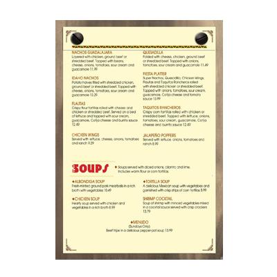 Menu Solutions WDSP-B menu board