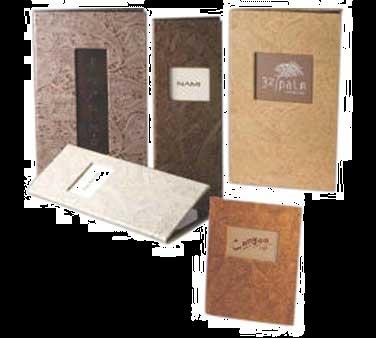 Menu Solutions WF120BA menu cover