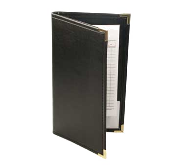 Menu Solutions WTR67-BK guest check pad holder