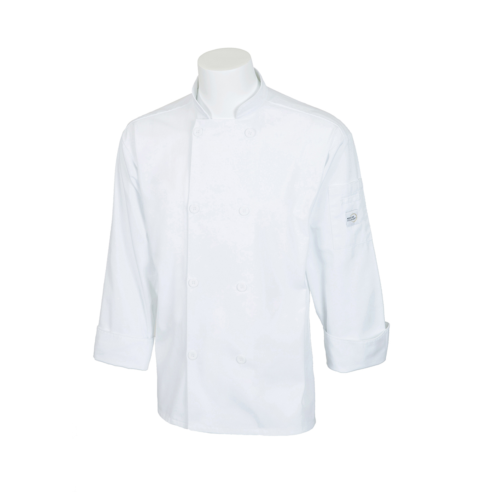Mercer Culinary M60010WH1X chef's coat