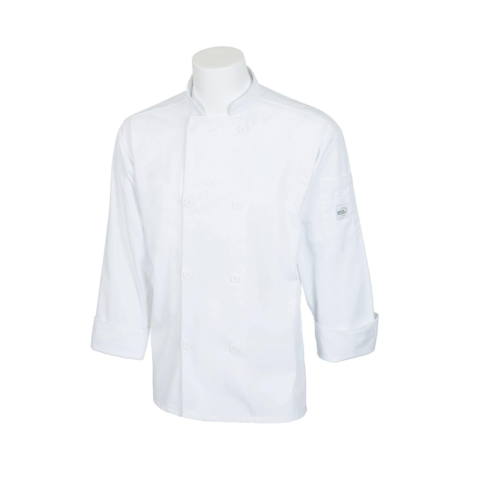 Mercer Culinary M60010WH5X chef's coat