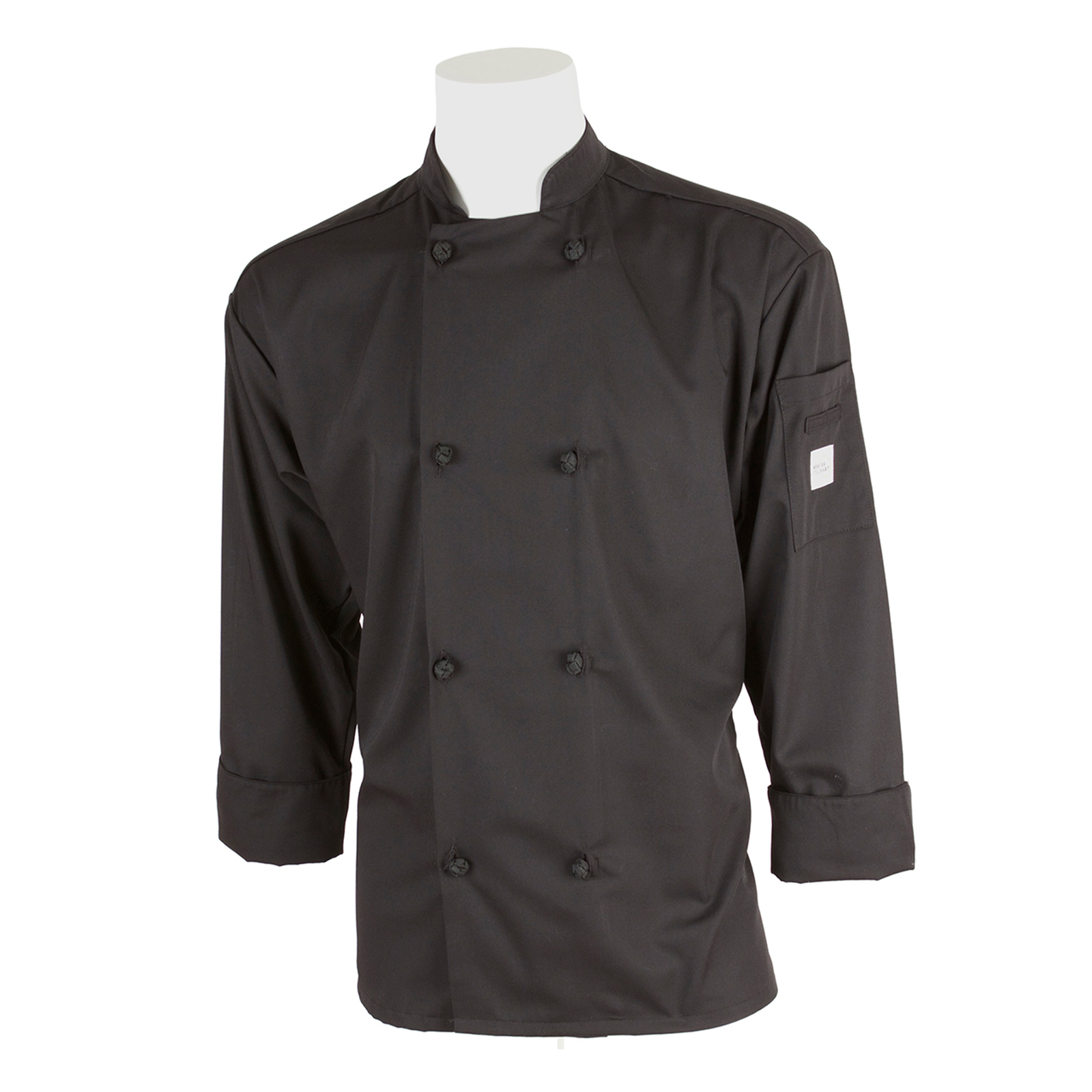 Mercer Culinary M60012BK2X chef's coat